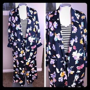 🆕 listing! Floral pajama-style suit (jacket only)